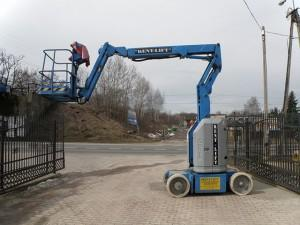 podnośniki teleskopowe elektryczne GENIE Z-30/20N
