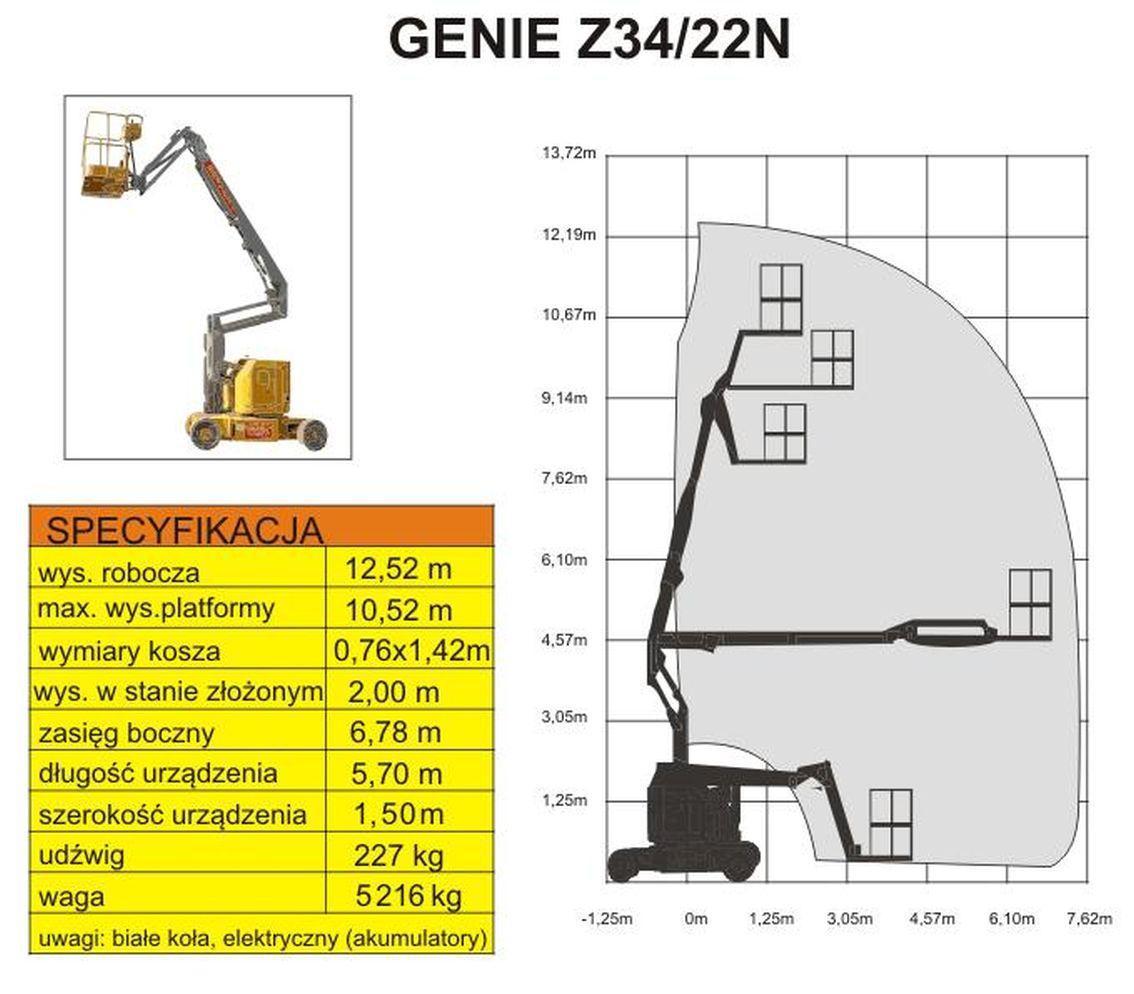 GENIE Z-34/22N schemat