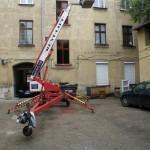 remont budynku - podnośnik RENT-LIFT
