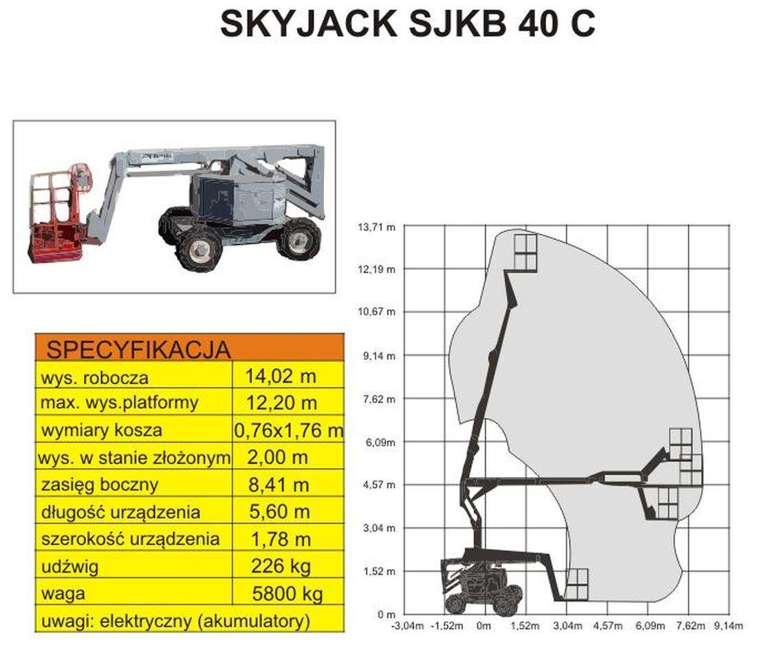 podnośnik SKYJACK SJKB 40C schemat