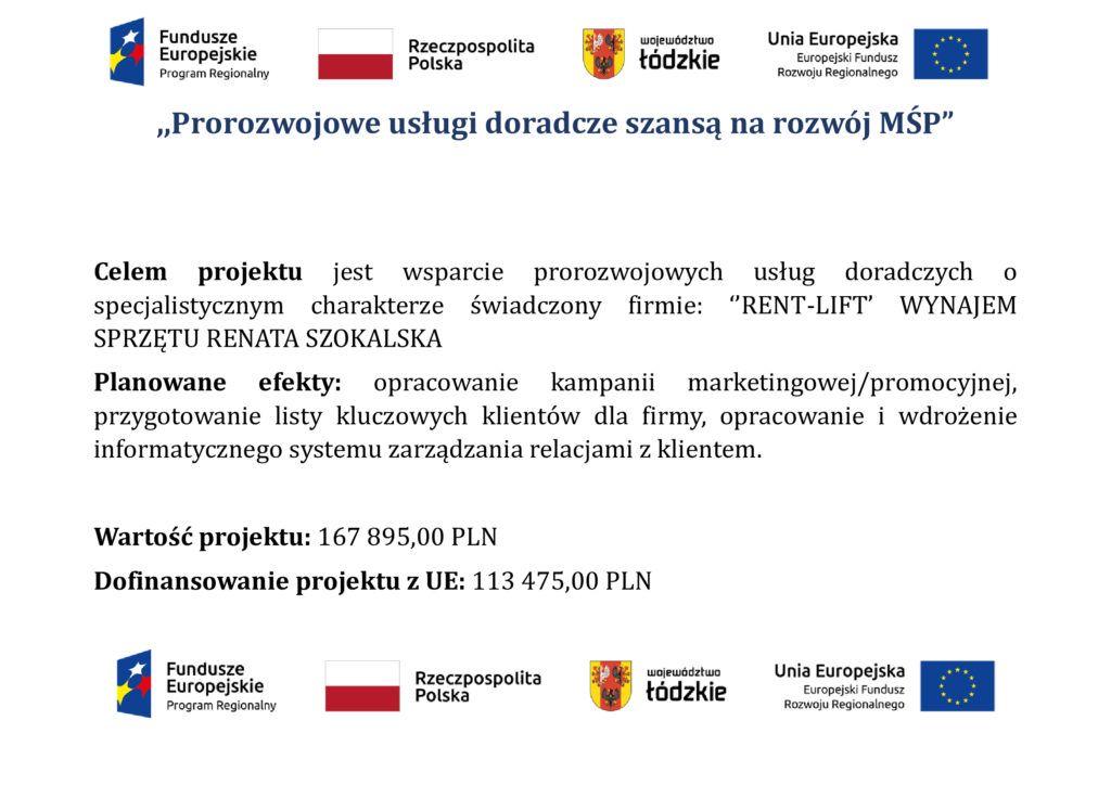 Dofinansowanie UE